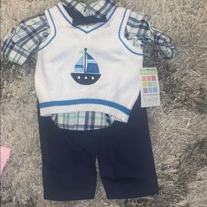 Newborn boy 3piece set